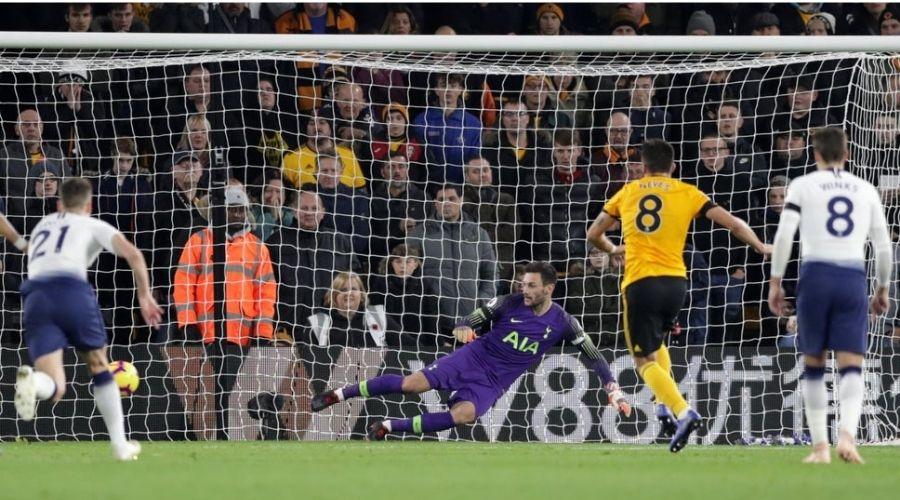 Thành tích đối đầu giữa Wolves vs Tottenham