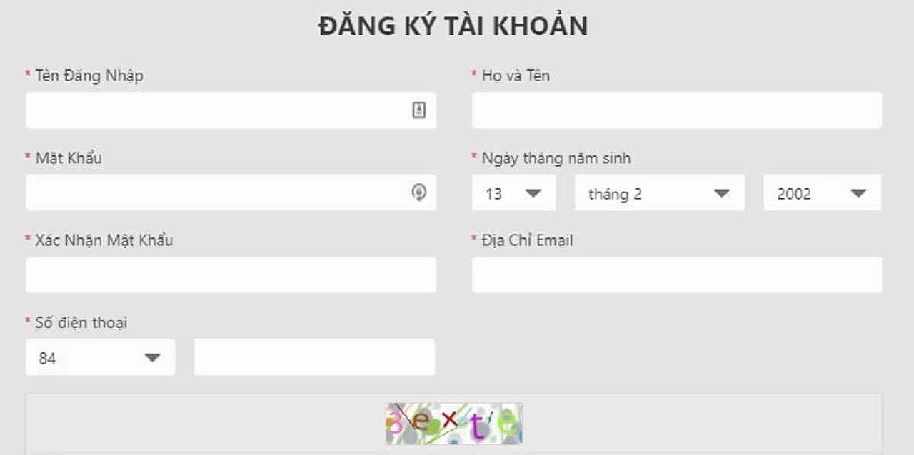 Hướng dẫn đăng ký tài khoản nhà cái VN88 đơn giản nhất