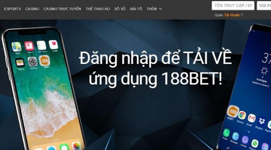 Hướng dẫn cách sử dụng 188bet mobile