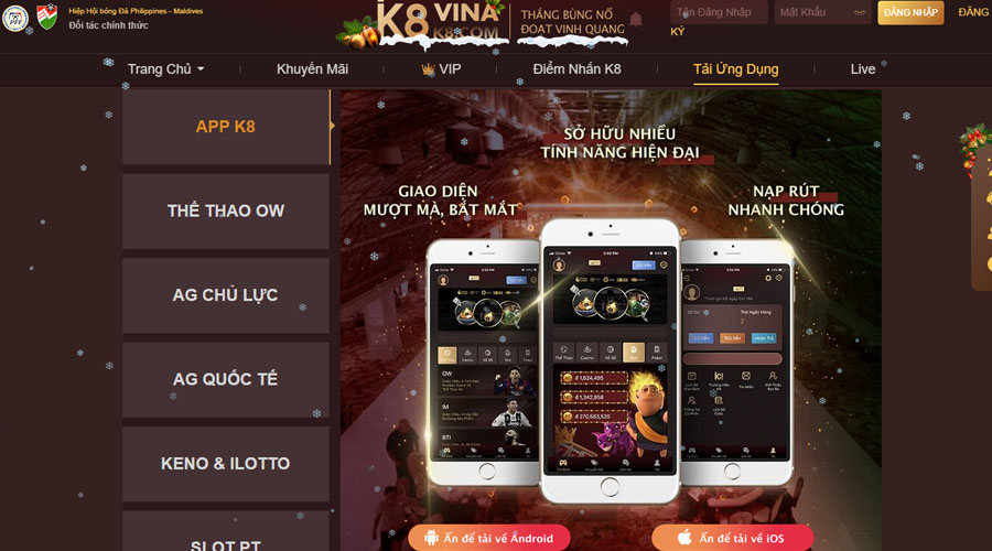 Download K8 mobile
