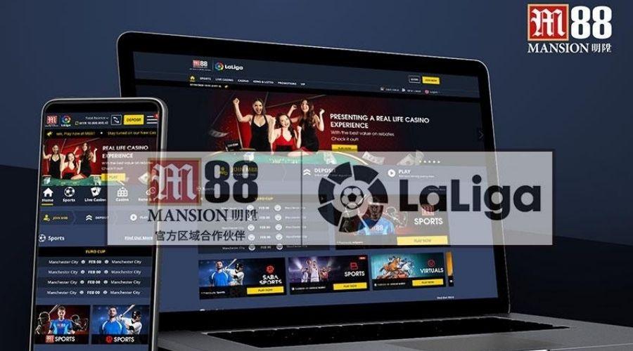 Nhà cái online M88 tài trợ chính thức cho giải bóng đá La Liga