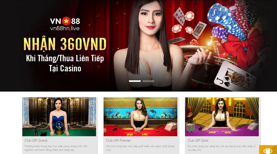 Casino nhà cái VN88