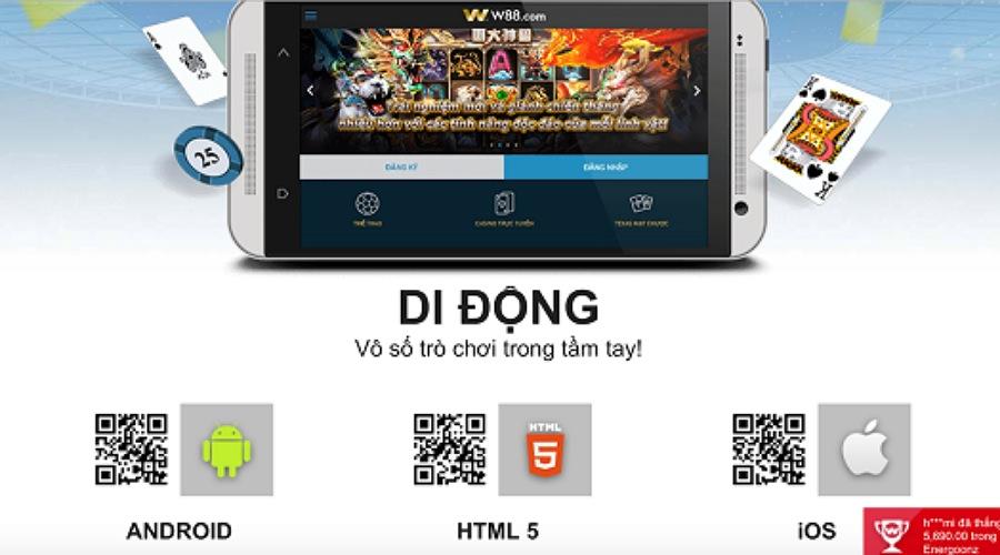 cách tải w88 download w88 về máy android