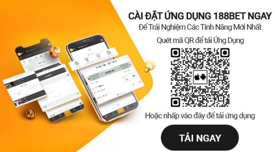 Cách tải ứng dụng 188bet mobile