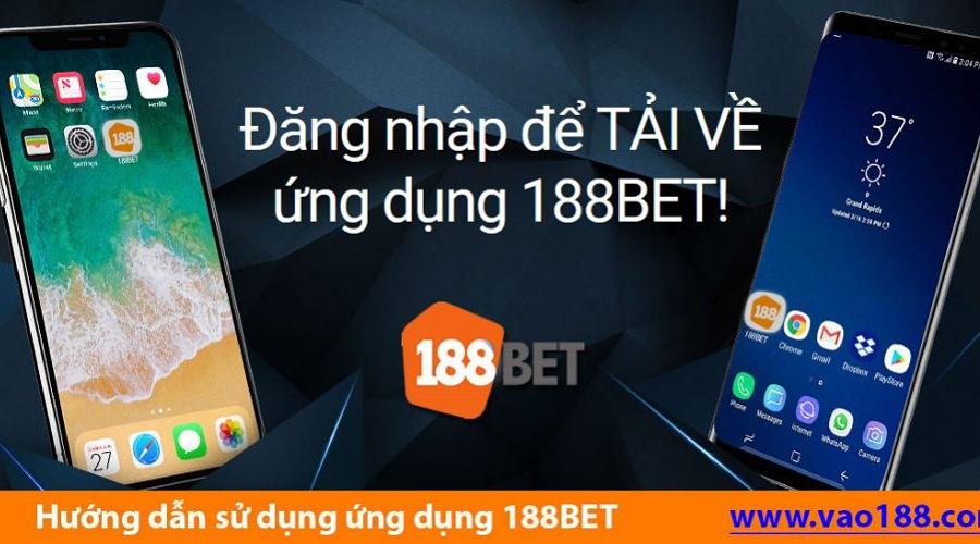 Truy cập bằng ứng dụng 188bet mobile