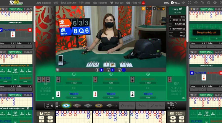 Tiết lộ thủ thuật chơi Rồng Hổ tại FB88 dễ thắng nhất