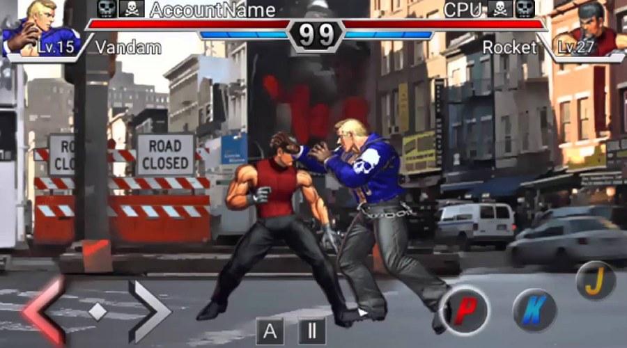 Trò chơi Infinite Fighter đầu tư thiết kế giao diện hoành tráng