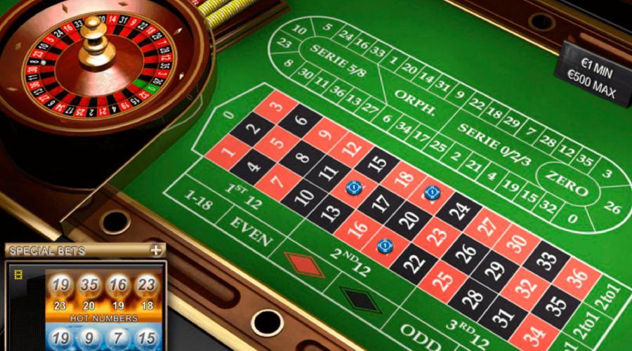 Những tựa game Roulette có tại 12BET có phiên bản Pháp
