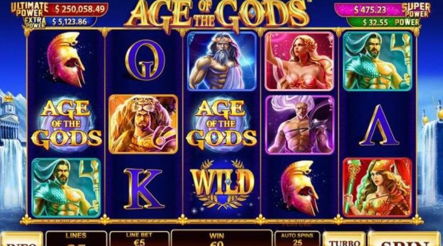 Age of the GODS - Top 5 tựa game Jackpot tại nhà cái FUN88
