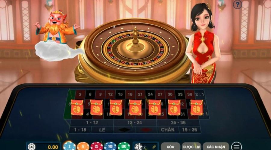 Trò chơi FaFa Roulette trực tuyến có mức tiền thưởng vô cùng hấp dẫn