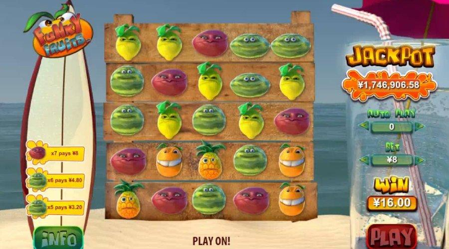 Funky Fruits thuộc thể loại game Jackpot thú vị nhất tại FUN88